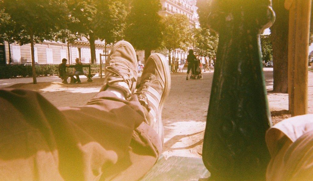 Sieste au soleil