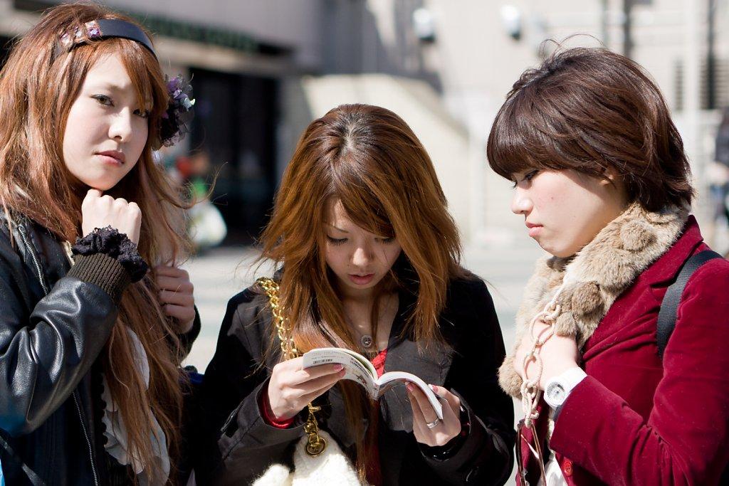 Jeunes touristes